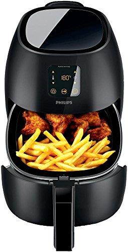 Philips HD9240/90 Airfryer XL (2100 Watt, Heißluftfritteuse, ohne Öl, für 3-4 Personen) schwarz