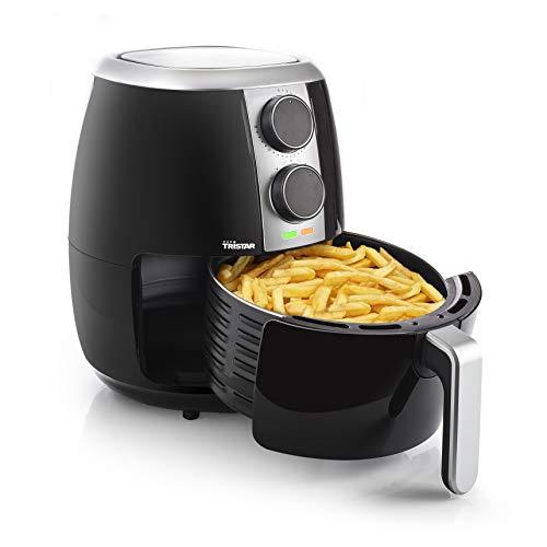 Tristar Heißluftfritteuse/ Crispy Fryer XL mit einstellbarem Thermostat und Timer   ohne Fett - einfach zu reinigen – mit 3,5 Liter Fassungsvermögen, FR-6989