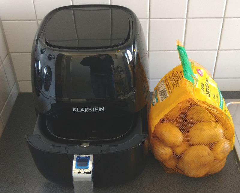 Klarstein VitAir Fries Touch Heißluftfritteuse Test