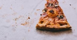 Ein leckeres Stück Pizza