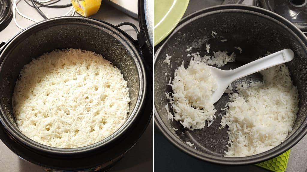 Reis kochen im Russell Hobbs Reiskocher